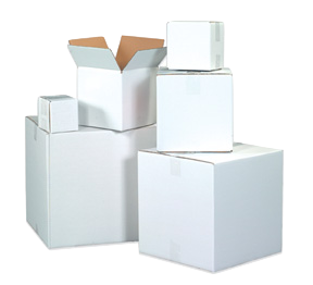 Stock Boxes - White